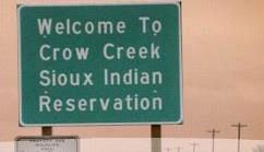 Crow Creek Sioux Indian Reservation