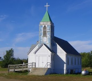 Christ Episcopal Church on the Crow Creek Indian Reservation